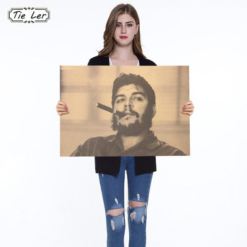Vintage Che Guevara B Style Poster Retro Art Wall Home Decoration Painting Kraft Paper Retro Poster image