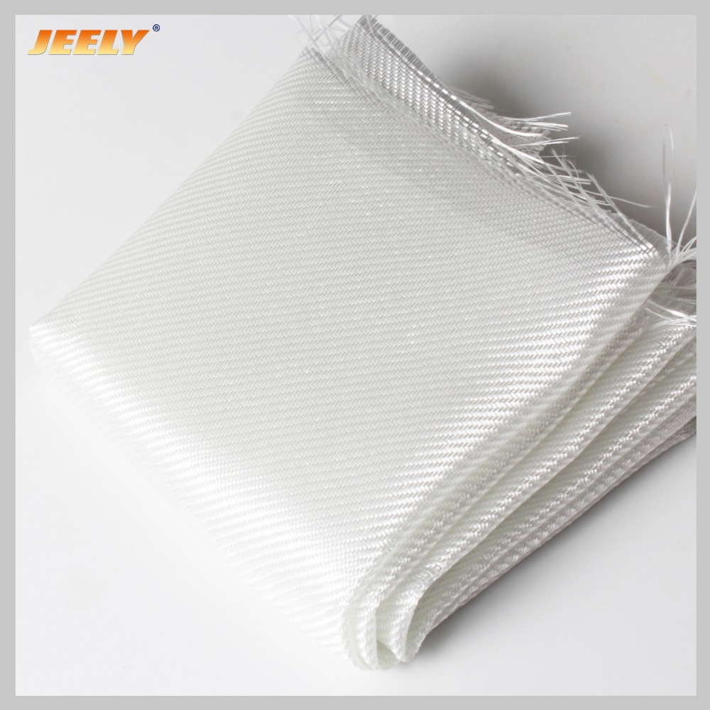 Jeely E-class 160gsm Tear Resistant Twill Woven Fiberglass Fabric Cut-resistant Reinforce Cloth 1m x0.5m for Surfboards