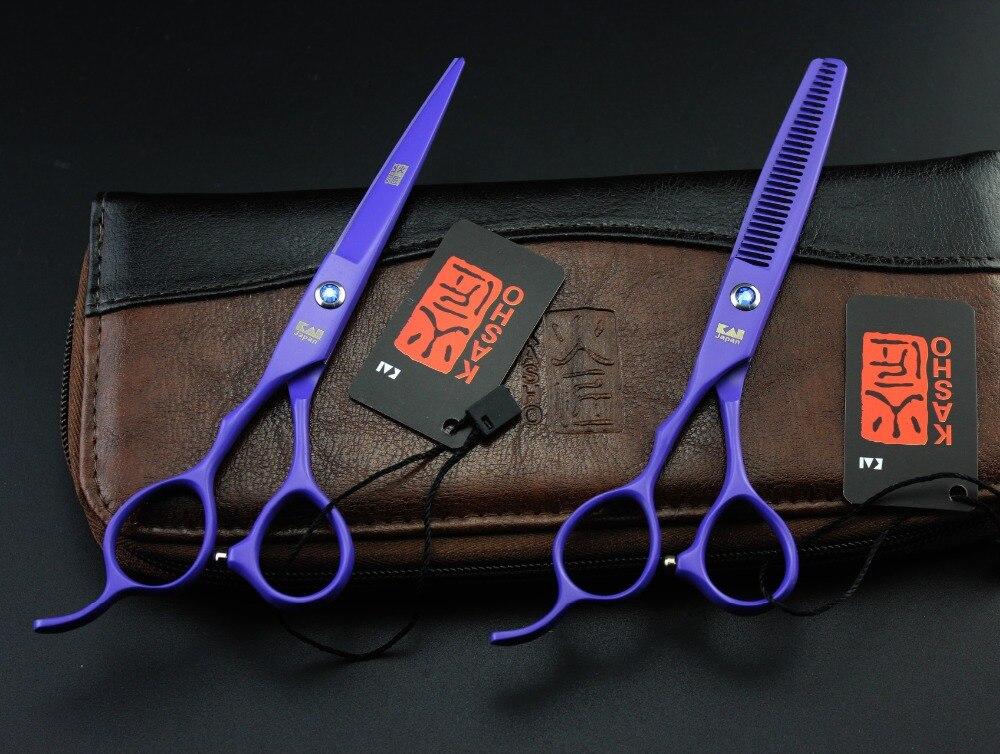 Kasho 6 Inch Professional Hair Scissors Left Hand High