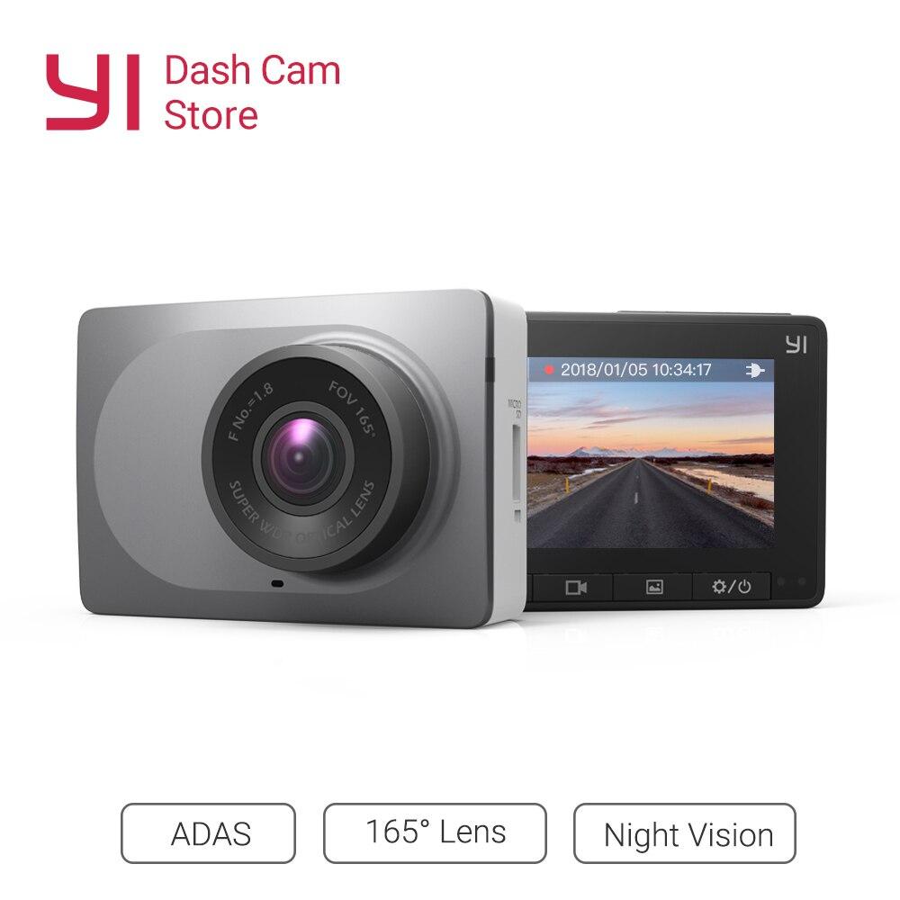 "YI Smart Dash Camera Full HD Car DVR Cam Video Recorder WiFi  Night Vision 1080P 2.7"" 165 Degree 60fps Camera Grey Car Recording-in DVR/Dash Camera from Automobiles & Motorcycles"