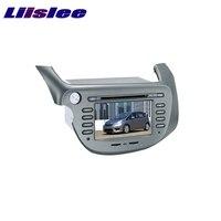 For Honda FTT Jazz 2007~2017 LiisLee Car Multimedia TV DVD GPS Audio Hi Fi Radio Original Style Navigation
