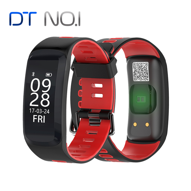 No.1 F4 Smart Fitness Bracelet IP68 waterproof Blood Pressure Blood Oxygen Heart Rate Monitor Smart band For IOS/Android