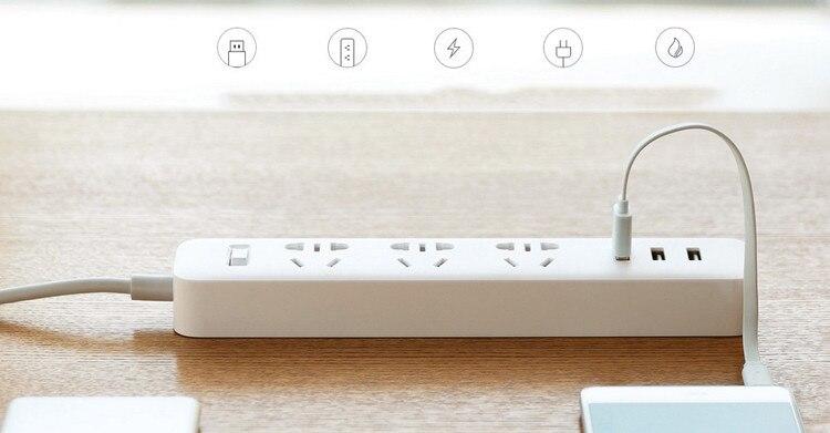 Xiaomi Mi Power Strip 3 Socket 3 USB 5