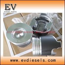 Motor reconstruir kit 3TNE84 Yanmar 3D84 3TN84 3D84-3 pistão e anel de pistão conjunto kit liner junta rolamento do motor