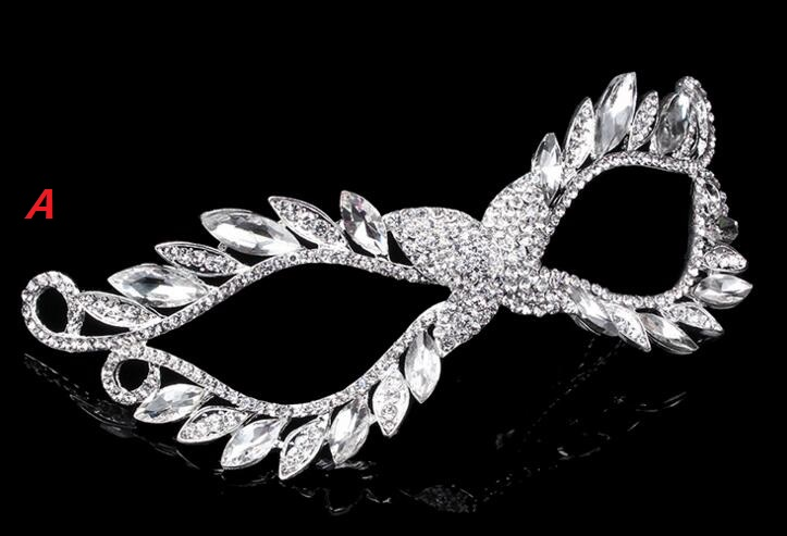 diy rhinestone mask venetian masquerade masks women