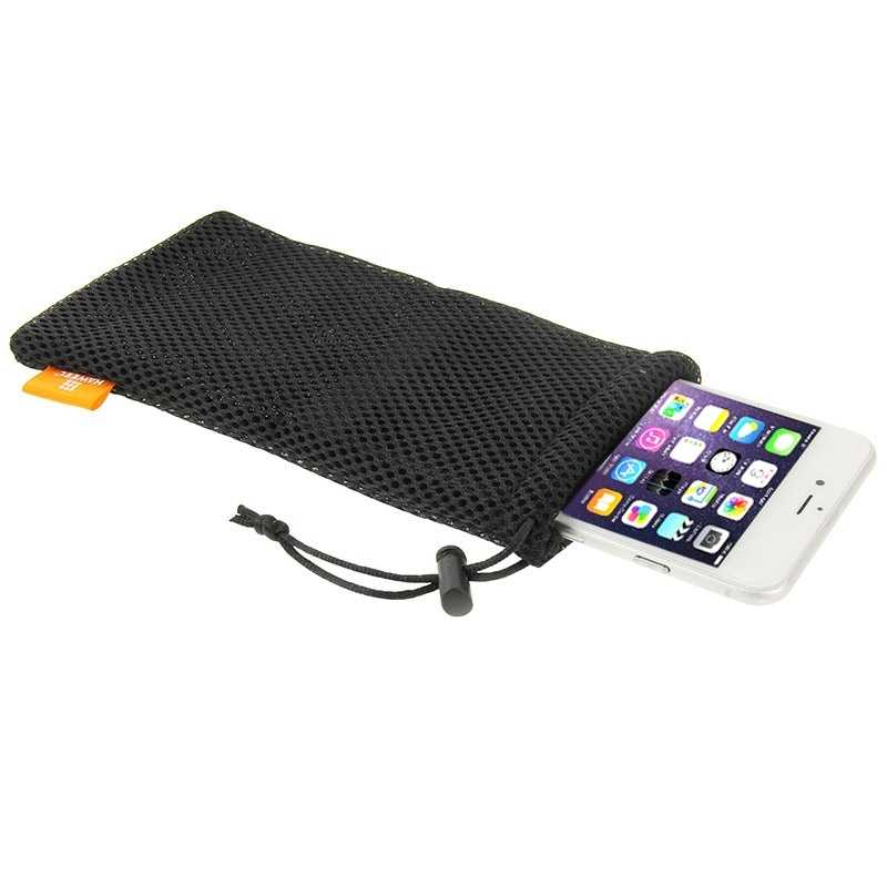 HAWEEL Pouch Bag for Smart Phones, Power Bank and other Accessories, for Size Below 5.5 inch Mobile Phone