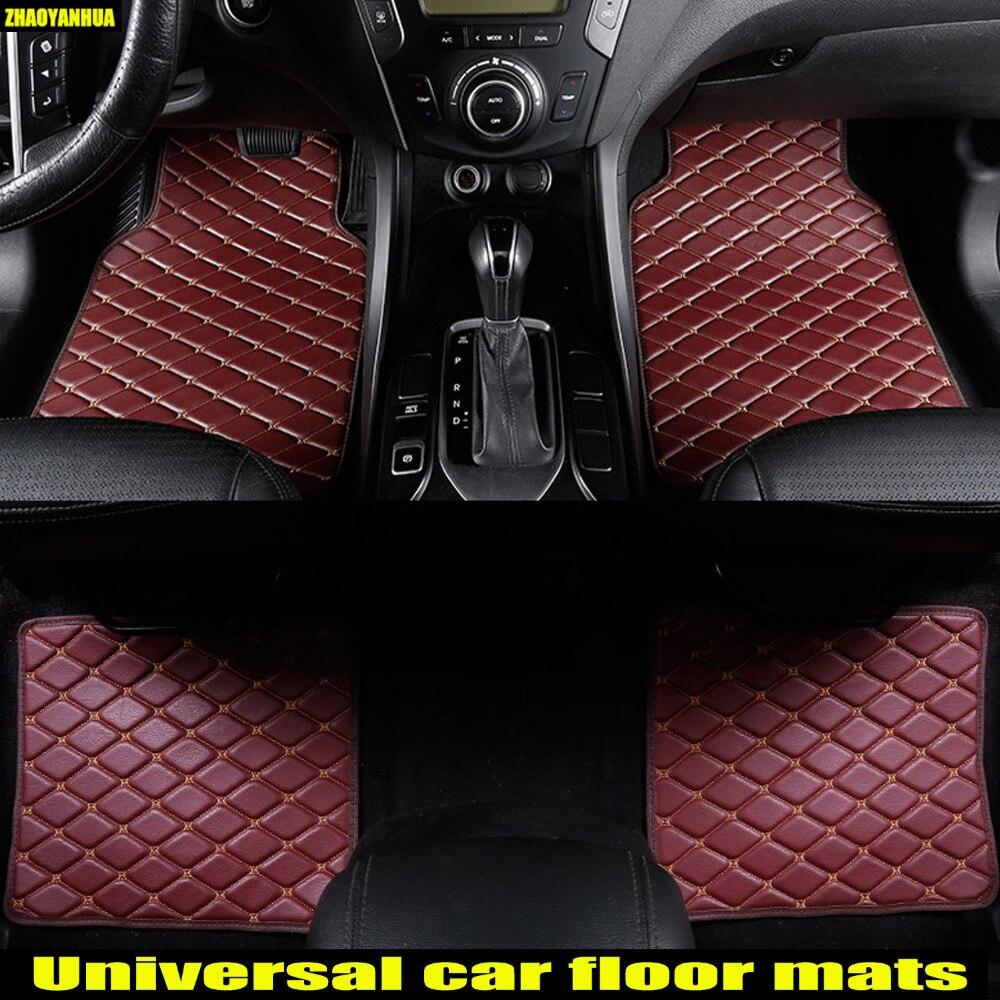 Zhaoyanhua Car Floor Mats For Bmw 5 Series E39 E60 E61 F10 F11 F07 Gt 520i 525i 528i 530i 535i 530d 5d Carpet Liners1996 Now In From
