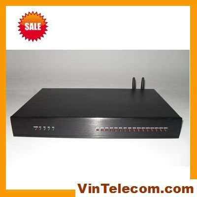 Telephone system GSM pbx/wireless pabx facotry in China VinTelecom TS+308(2GSM)  Phone System- 3lines in and 8 ext. output pabx