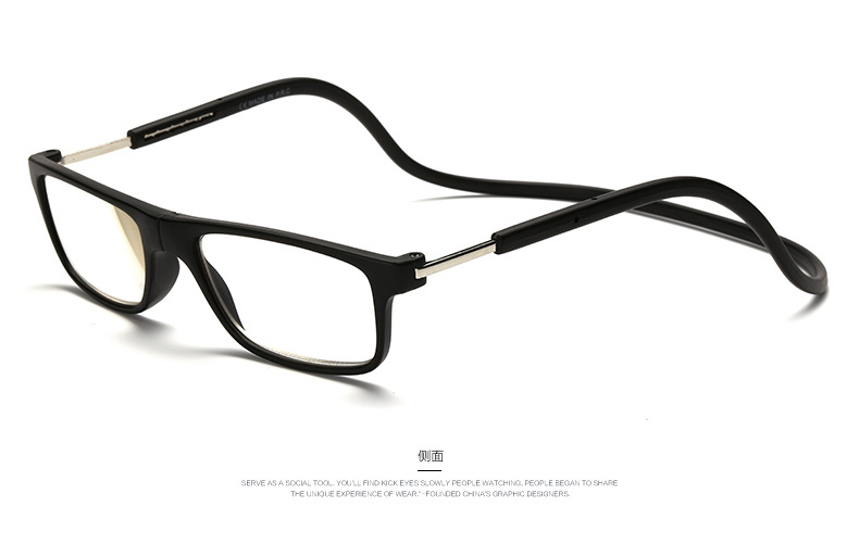 b23a7840c4b Mix Fashion New Magnetic Reading Glasses Click Hang Around Never Loose  again +1.0 1.5 2.0 2.5 3.0 3.5 4.0 neck glasses 05-in Reading Glasses from  Apparel ...