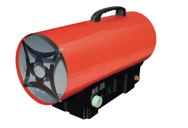 30kw lpg gas industry heater, gas portable thermal heater with temperature display and controller, heater with Thermostat