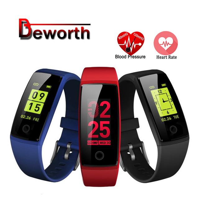 V10 Smart Wristband Fitness Band IPS Color LCD Screen Heart Rate Monitor Acitivity Tracker Bracelet Pedometer Blood Pressure