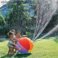 Abbyfrank環境保護インフレータブル水球カラフルなスイミングプール夏ビーチ芝生水スプレーボール屋外のおもちゃ