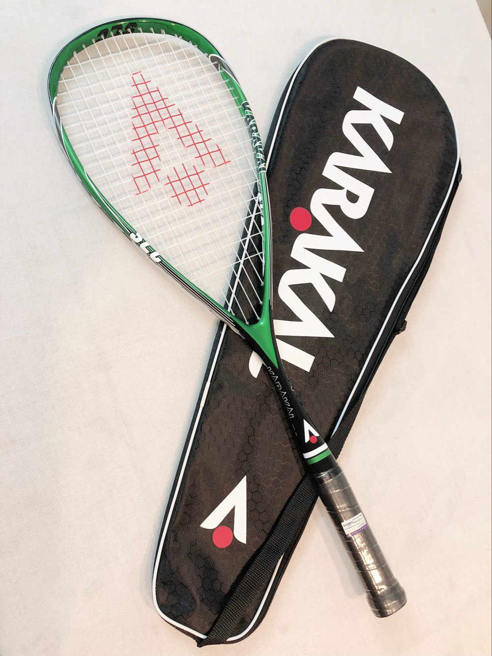 Original Karakal Squash Racket 130g SLC Carbon Fiber Material For Squash Sport Training Match game for Players Learners raquete