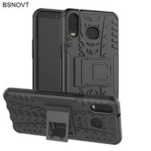 For Samsung Galaxy A6S Case Silicone Hard Phone Holder Anti-knock Cover