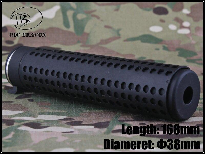 Big Dragon KAC Style QD Silencer with QD Flash Hider