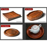 KingTeaMall Bamboo Tea Cup Mat / Tray 3 Variations for Chinese Gongfu Tea, Teawares, Teasets, Teatools, Gifts