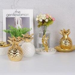 Keramik Ananas Spardosen Für Zuhause Ornamente Moderne Sparschwein Münze Box Für Geld Dekoration Zubehör Souvenirs