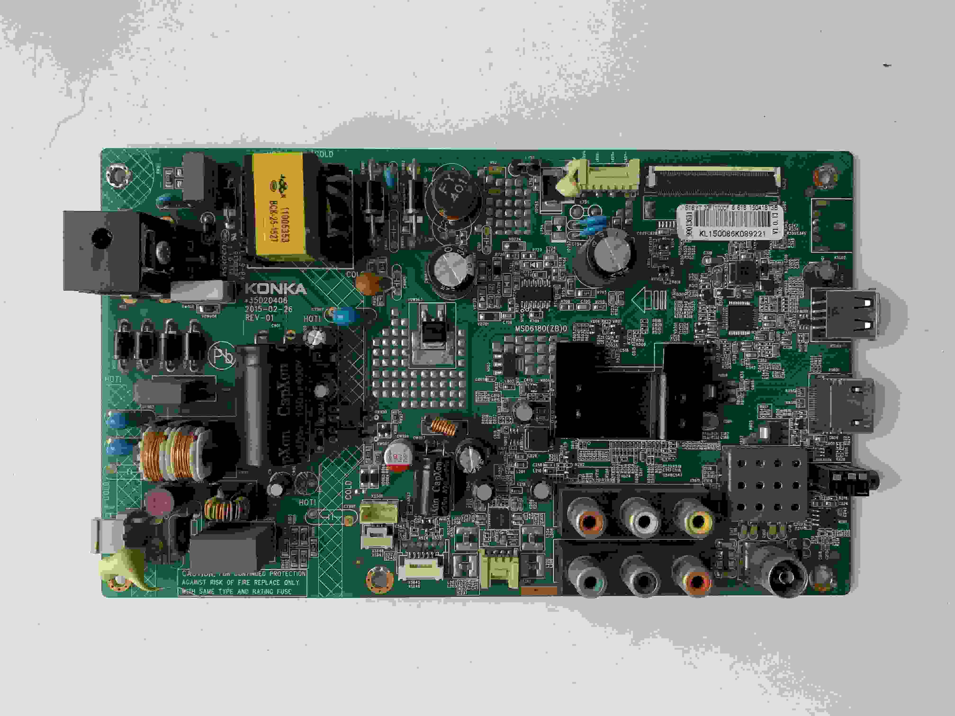 Circuits Objective Main Board Power Board Circuit Logic Board Constant Current Board Led 32f1100cf 35020406 Screen 616yt