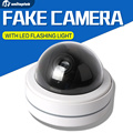 Outdoor Indoor dome Dummy Camera Flash Ir LED Security Camera Fake CCTV Surveillance