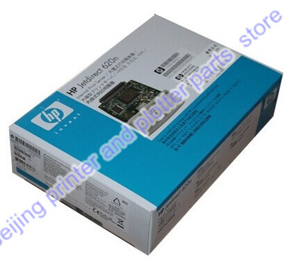 все цены на Free shipping 100% new original JetDirect 620N J7934A Ethernet Internal Print Service Network Card Design Jet Plotter Printer онлайн