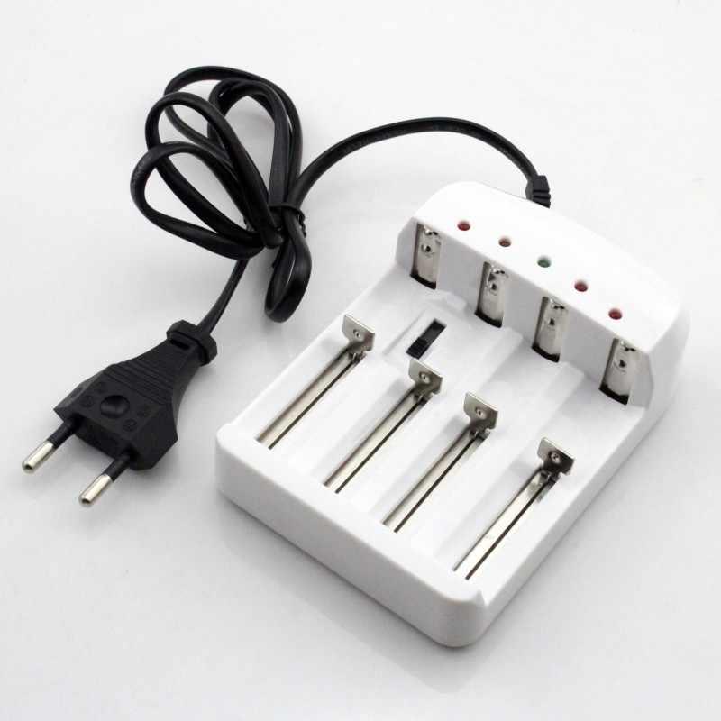 Yupard 18650/26650/14500/16340/10440 автоматическое отключение Батарея зарядки Зарядное устройство 4.2 В 3.6 В литий-ионный батарея 1.5 В 1.2 В Батарея AA/AAA