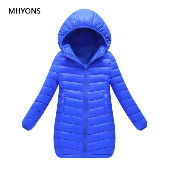 Best Price 2018 Boys Winter Warm coats & Jacket Kid Zipper Jackets Boys Thick Winter Jacket High Quality Thick Girls Coat Kids Long Clothes