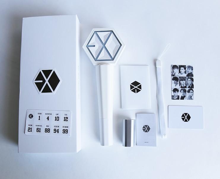 Kpop EXO Sehun Chanyeol Giaceva Bianco Concerto Light stick glow stick