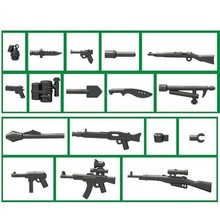 World War II weapons weapons gun original Block toys swat police military lepin weapons army lepin accessories Compatible lepin