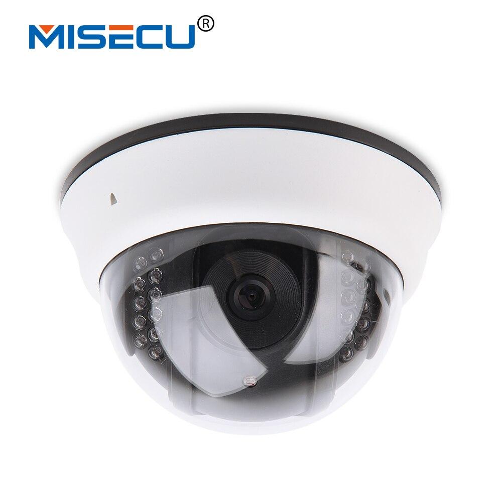 bilder für MISECU 2,8mm Neue ONVIF Kuppel 720 P HD Drahtlose Ip-kamera wifi innen P2P Nachtsicht email alarm 1280*720 P Ip-kamera, freies netzteil