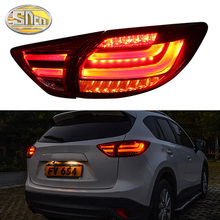 Car Styling for Mazda CX-5 Tail Lights 2013-2017 CX-5 LED Tail Lamp CX5 LED DRL Signal Brake Reverse auto Accessories цена