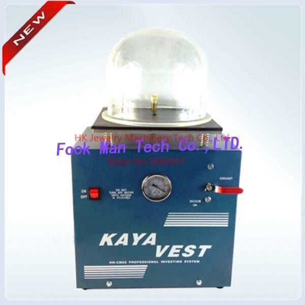 Livraison gratuite bijoux faisant la Machine 220 V KAYA gilet Mini Machine de coulée sous vide Machine prix