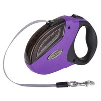 Practical COOL BUD GHB Dog Leads Retractable Extendable Dog Lead 5M For 50KG Dogs Red