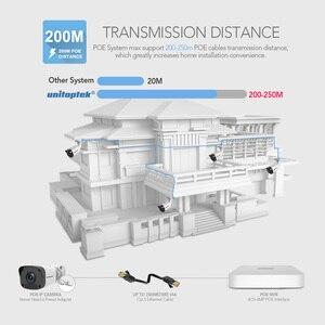 Image 2 - 4MP 4CH POE NVR ערכת אבטחת CCTV המצלמה מערכת Ultra 265 200M POE מרחק IP המצלמה Onvif חיצוני וידאו מעקב מערכת