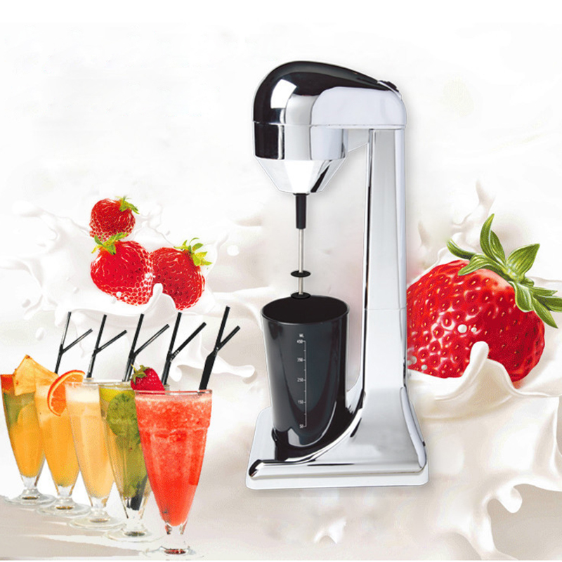 220V Electric Milk Frother Coffee Foamer Cold and Hot Milking Machine Fancy Coffee Foamer Food Mixer EU UK plug for Kitchen in Milk Frothers from Home Appliances