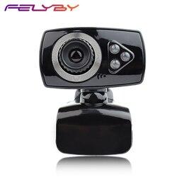 Wysokiej jakości nowa kamera USB do Skype mikrofon komputerowy z 12 milionami pikseli kamera internetowa HD 360 stopni klip