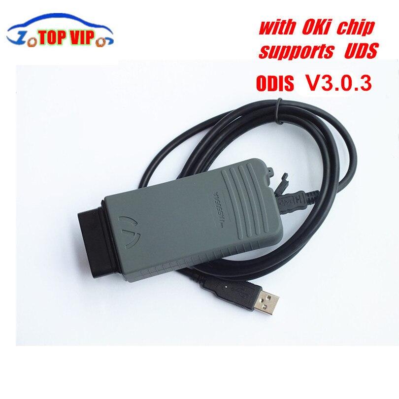 Prix pour Meilleur prix 5 pcs Voiture Outil De Diagnostic V19 Vas 5054a ODIS V4.0.0 Bluetooth 5054A avec OKI puce Soutien UDS Multi-Langue par DHL