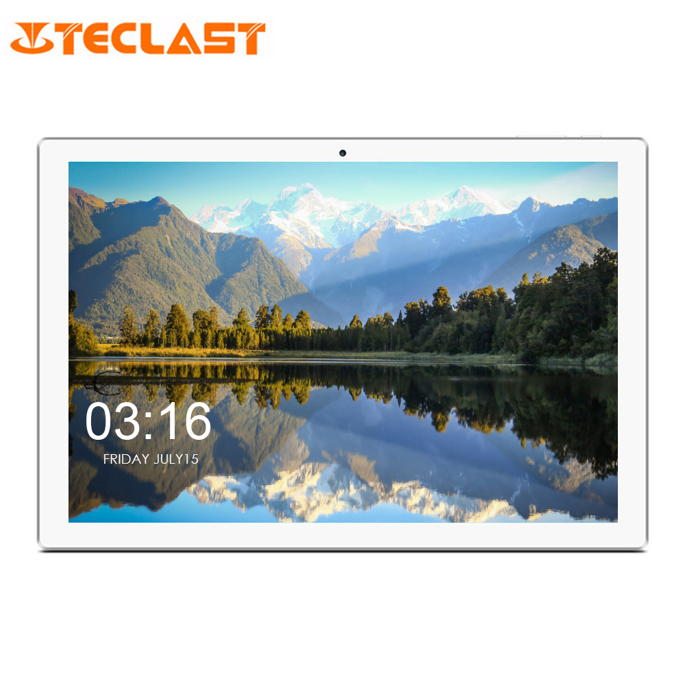 New Teclast P10 4G Phablet 10.1 Inch Dual 4G Tablet PC Android 8.1 MTK 6737 Quad Core 2GB RAM 16GB EMMC Dual WiFi Cameras OTG