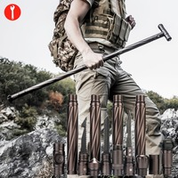 Outdoor Camp Hiking Survival Tool Self defense Sticks pole Home Car Multifunctional survival kit climbing emergency equipments