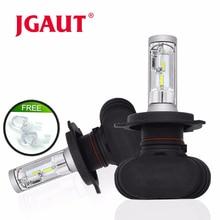 JGAUT S1 2 шт CSP H8 H11 Туман лампа H4 Led H7 H1 H3 фар автомобиля лампы для авто 9005 9006 лампы Автомобильные 12 V 50 W 8000LM 6000 K