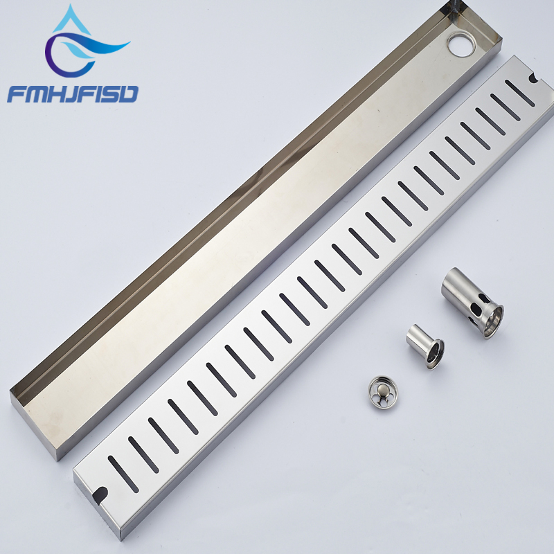 Wholesale And Retail Bathroom Accessories Floor Drain Chrome Stainless Deodorant Sealing Grate Waste Drainer oil rubbed bronze bathroom solid brass floor drain square grate waste drainer