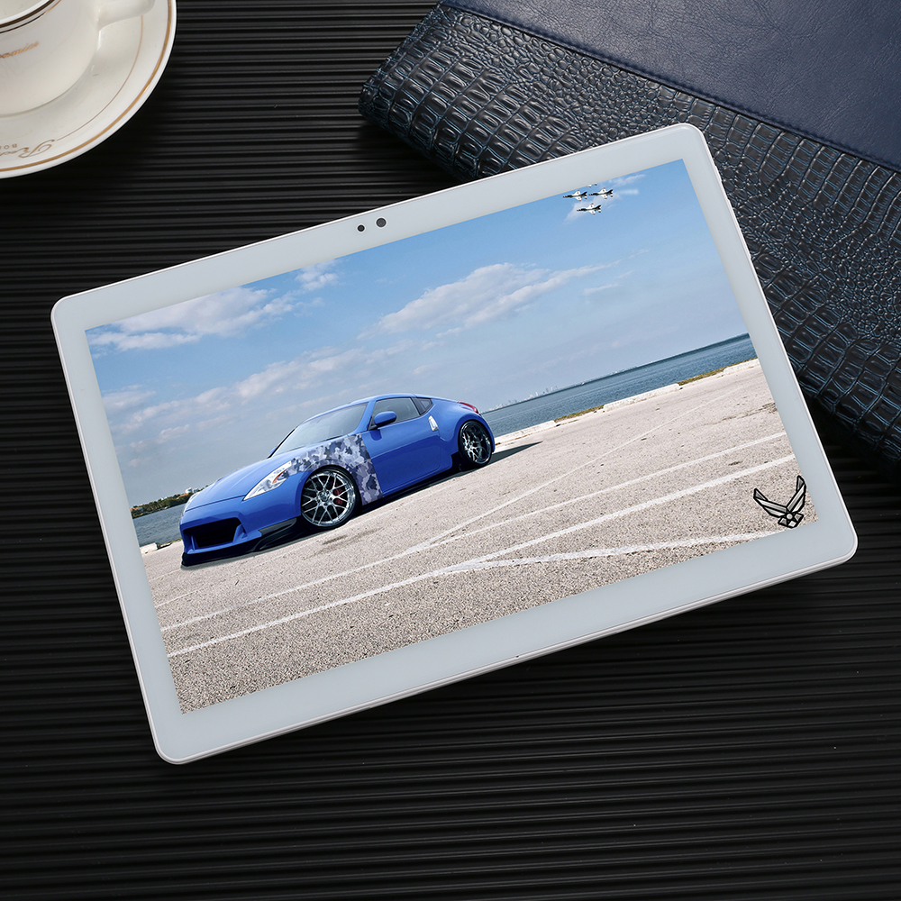 10 pouces tablette Android 7.0 Super trempé 2.5D verre Octa Core 4 GB RAM 64 GB ROM 8 cœurs 1920*1200 IPS écran tablettes 10 + cadeau
