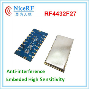 Image 5 - 2 cái/lốc hiệu suất cao 3 km 868 MHz 500 mW nhúng Wireless Transmitter Receiver RF Module FSK/GFSK Mô đun RF4432F27