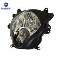 waase GSX R1000 K7 K8 Front Headlight Headlamp Head Light Lamp Assembly For Suzuki GSXR 1000 2007 2008