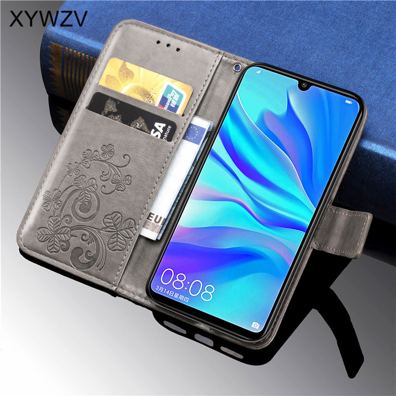 Image 3 - For Huawei Nova 4E Case Shockproof Flip Wallet Soft Silicone Phone Case Card Holder Fundas For Huawei Nova 4e Cover For Nova 4E-in Flip Cases from Cellphones & Telecommunications