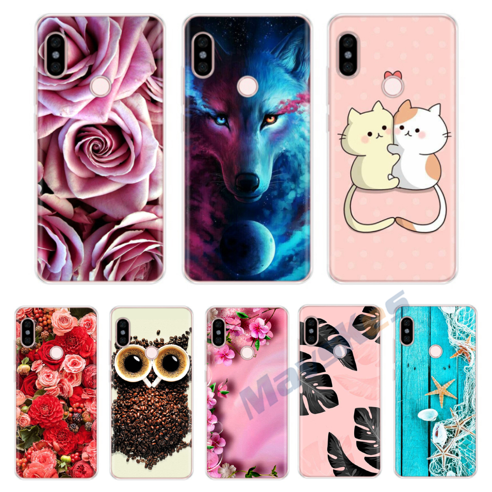 For Xiaomi Redmi Note 5 Case Redmi Note 5 Pro Cover Silicone TPU Case Cover For Xiomi Xiaomi Redmi Note 5 Pro Bumper Phone Case