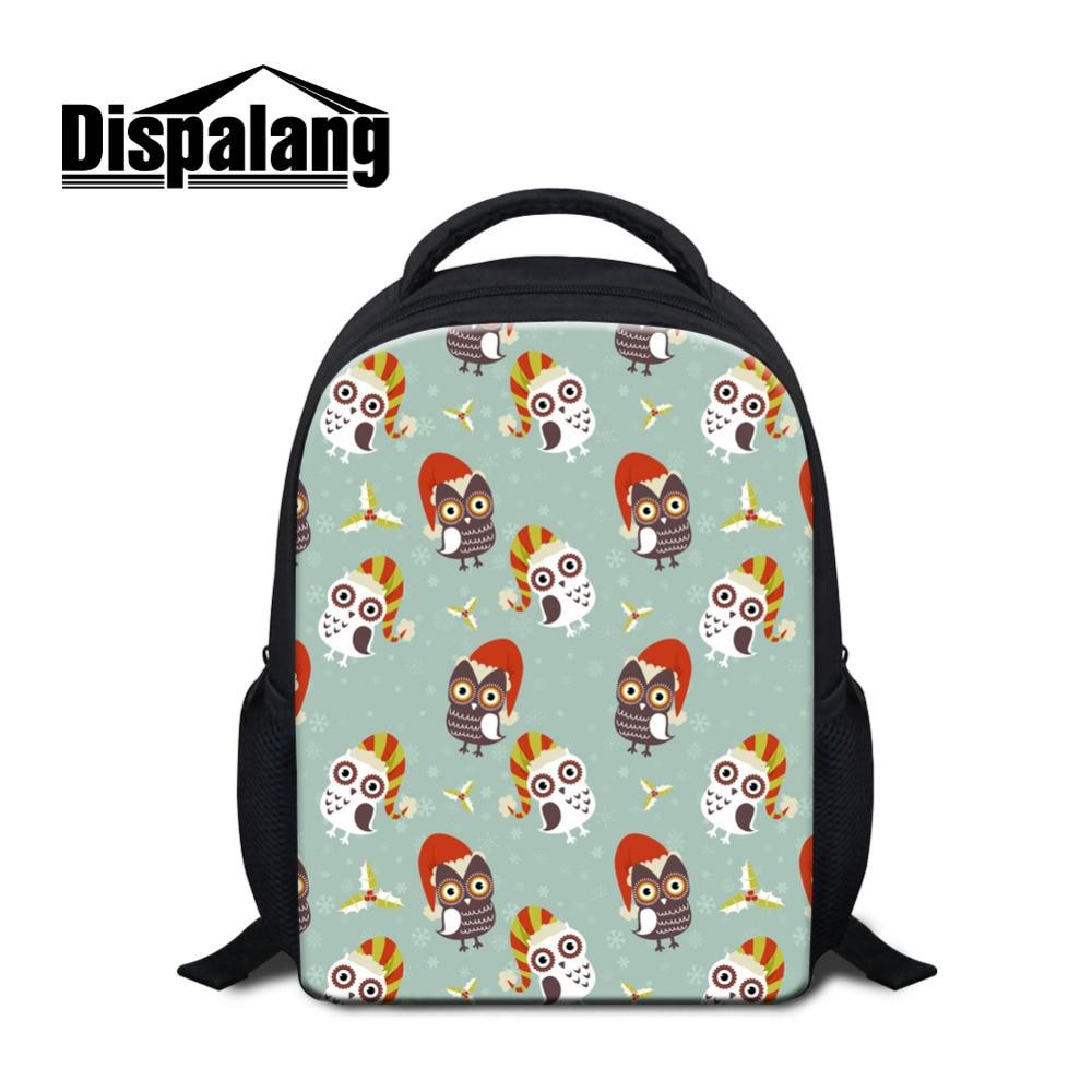 Dispalang 12 Inch School Bags For Girls Cartoon Animal Print Children Backpacks Kindergarten Book Bag Schoolbags - Kindergarten Book Bag
