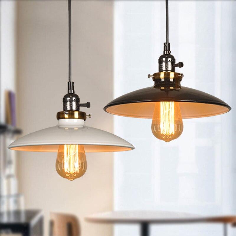 Black Pendant Lights Led Pendant Lamp Kitchen Hanging Lamp Industrial Nordic Lamp Loft Retro Vintage Lamp Dining Cafe Bar Shop|Pendant Lights| |  - title=