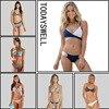 2017 New Arrival Sexy Cross Brazilian Bikini Women Swimwear Swimsuit Push Up Bikini Set Harness Top
