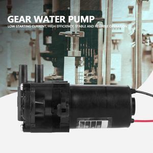 Image 2 - ZC A250 Ingranaggi Pompa Acqua DC24V Mini Auto Ingranaggio di Plastica Resistente Alla Corrosione autoadescante Pompa Acqua