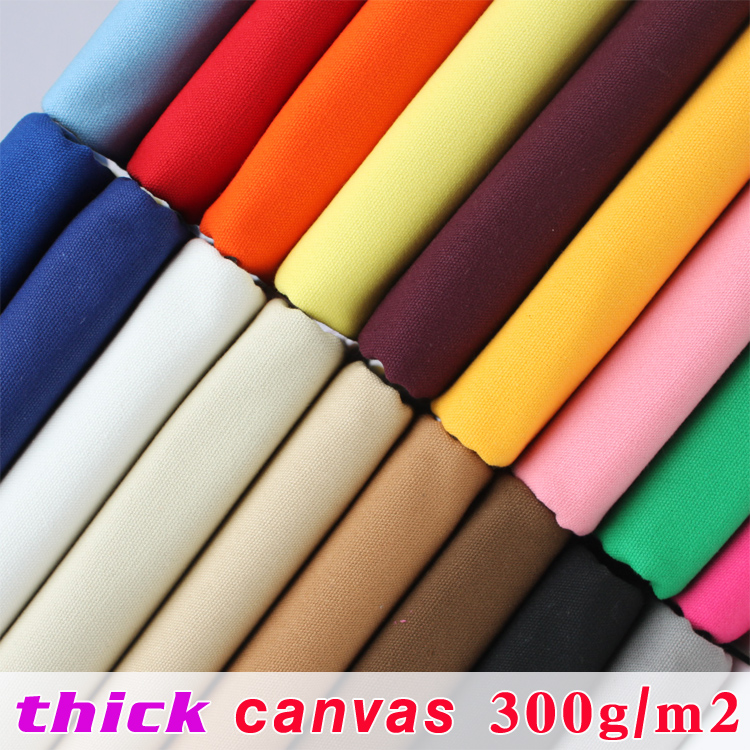 Toile épaisse Toile De Coton Tissu Toile Tissu Sac D'ameublement Table Tissu Coussin 60 large Vendu Par La Cour Livraison Gratuite